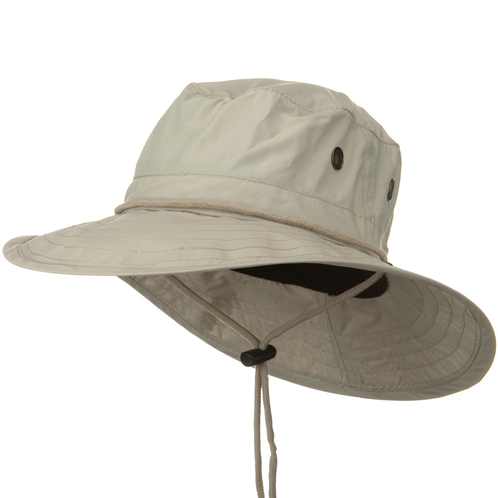 UPF 50+ Sun Block Rafting Hat - Putty - Hats and Caps Online Shop - Hip Head Gear