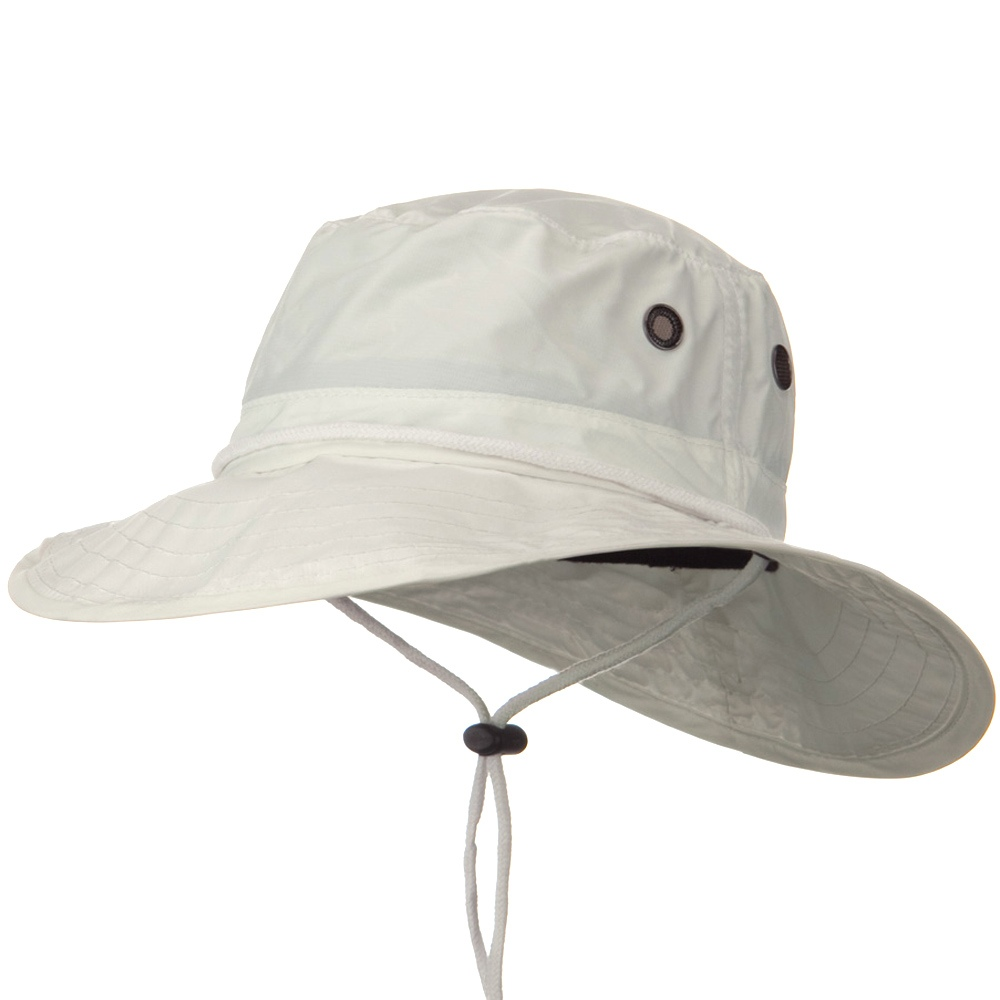 UPF 50+ Sun Block Rafting Hat - White - Hats and Caps Online Shop - Hip Head Gear