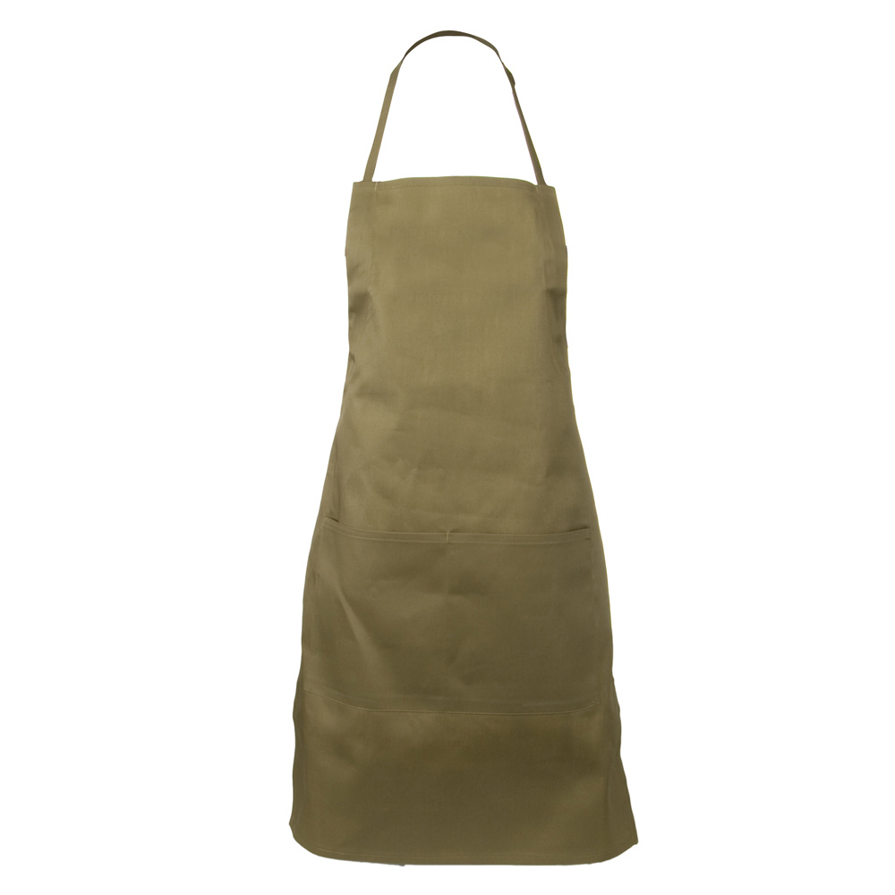 2 Pocket Adjustable Apron - Khaki