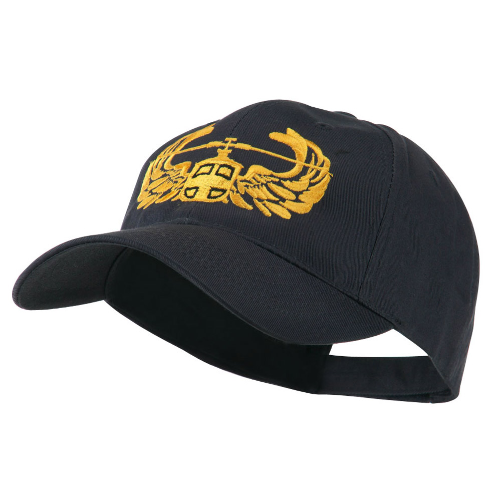 Air Assault Air Force Badge Outline Embroidered Cap - Navy - Hats and Caps Online Shop - Hip Head Gear