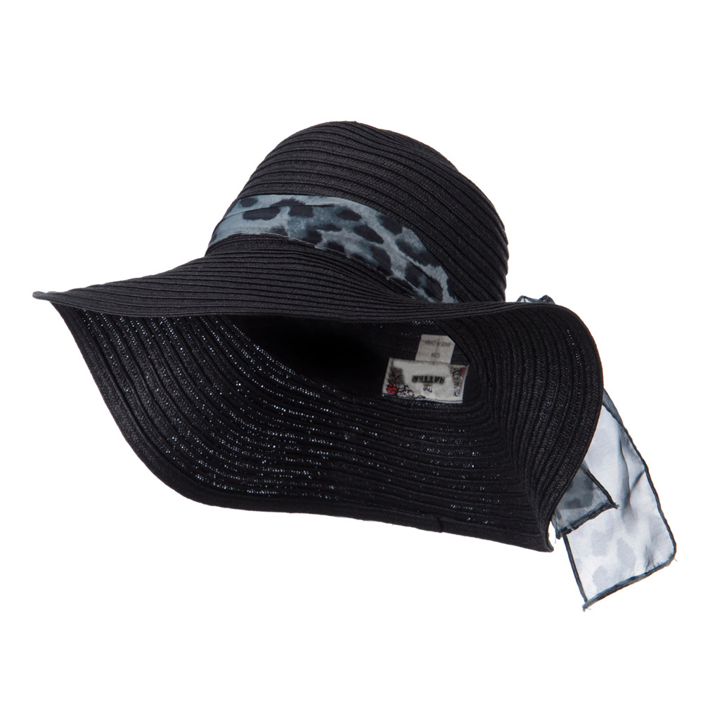 Animal Band Floppy Hat - Black - Hats and Caps Online Shop - Hip Head Gear