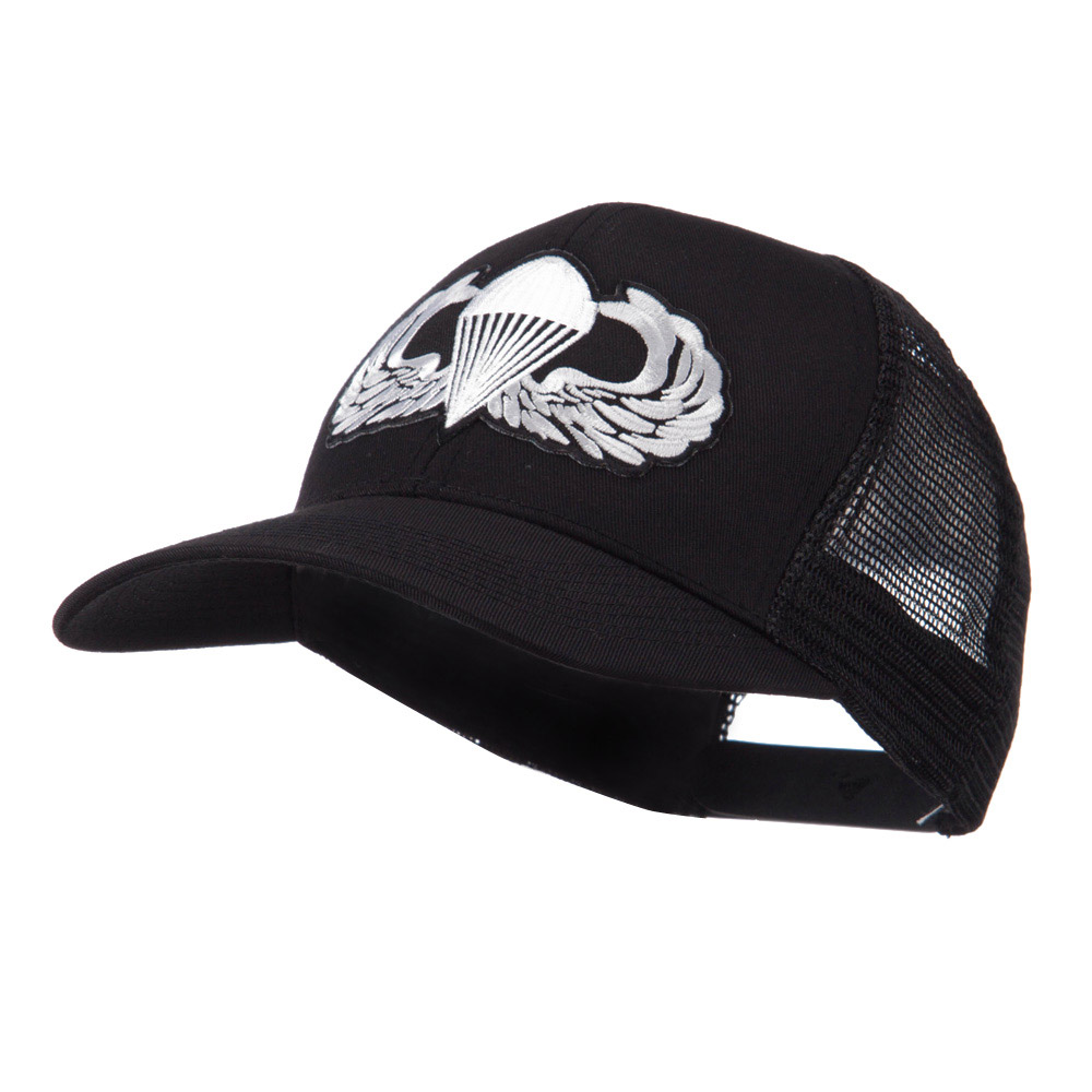 Air Borne Wing Shape Patched Mesh Cap - Para - Hats and Caps Online Shop - Hip Head Gear