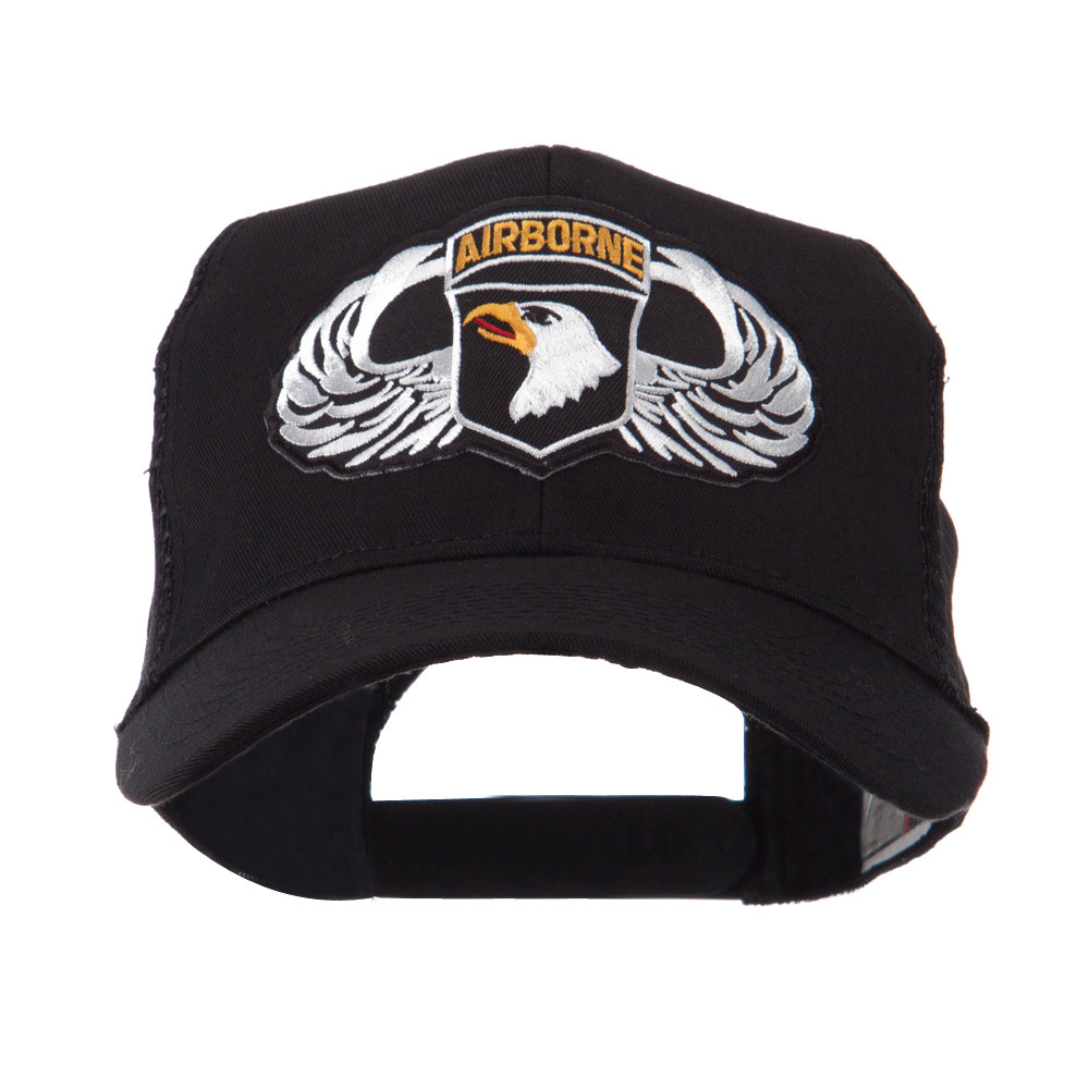 Air Borne Wing Shape Patched Mesh Cap - 101st - Hats and Caps Online Shop - Hip Head Gear
