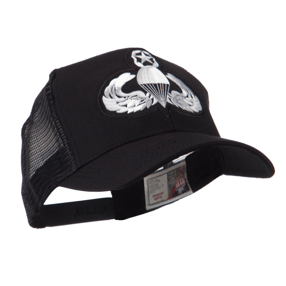 Air Borne Wing Shape Patched Mesh Cap - Parachutist - Hats and Caps Online Shop - Hip Head Gear