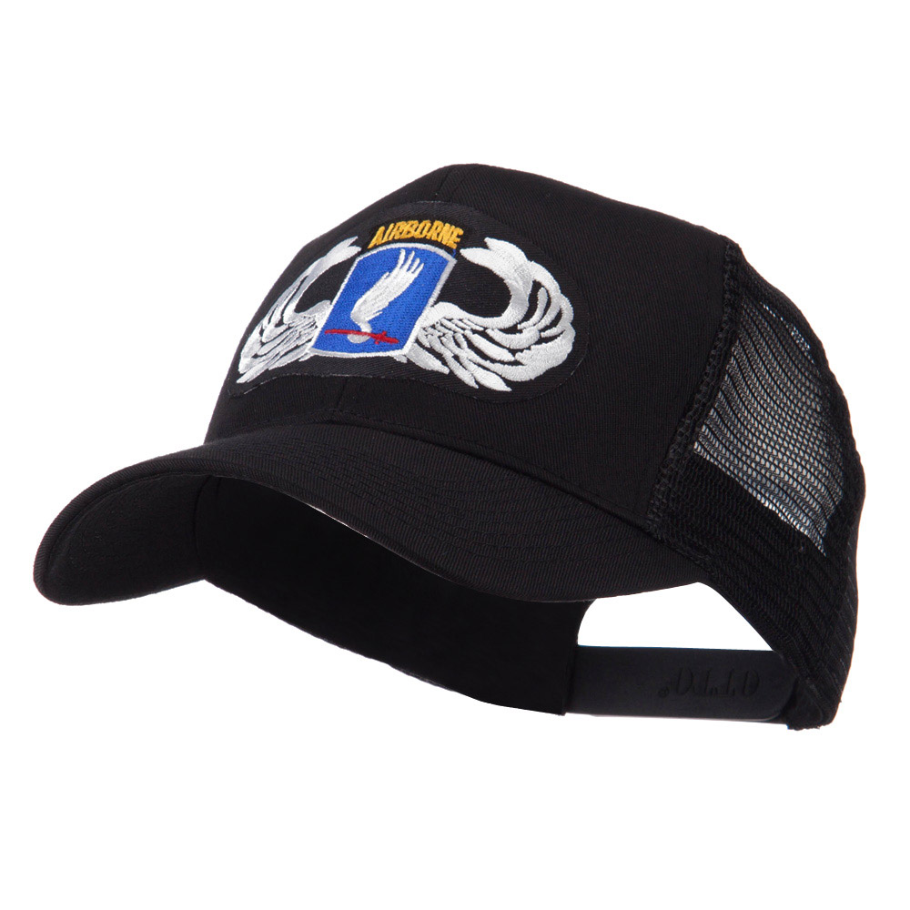 Air Borne Wing Shape Patched Mesh Cap - 173rd - Hats and Caps Online Shop - Hip Head Gear