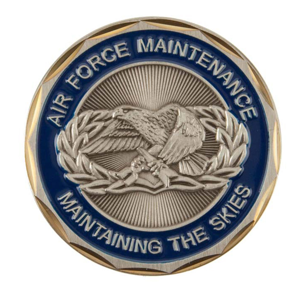 U.S. Air Force Coin (1) - Maintenance