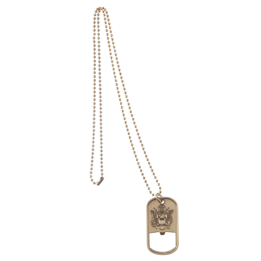 Army Dog Tag - Bronze Opener