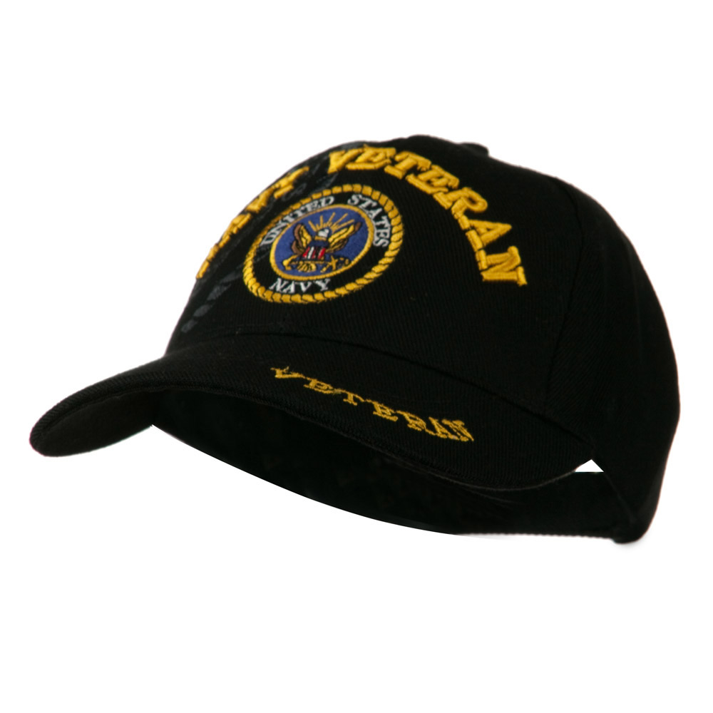 Army Cap with Bill Design - Navy Veteran - Hats and Caps Online Shop - Hip Head Gear
