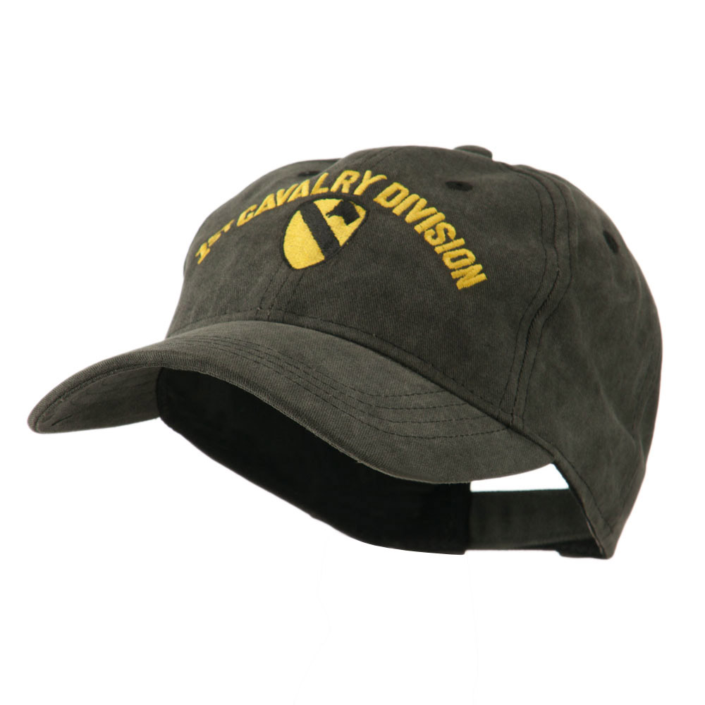 Army Divisions Cotton Washed Cap - 1st - Hats and Caps Online Shop - Hip Head Gear