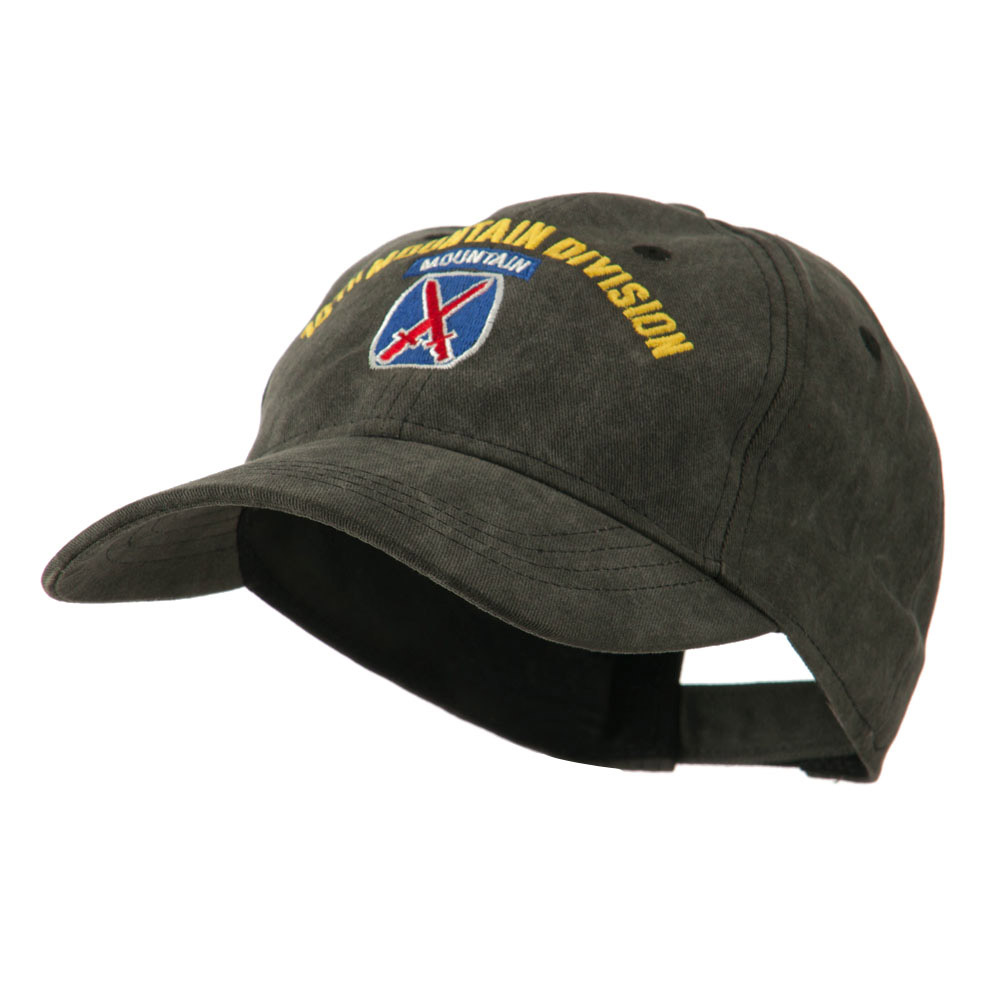 Army Divisions Cotton Washed Cap - 10th - Hats and Caps Online Shop - Hip Head Gear
