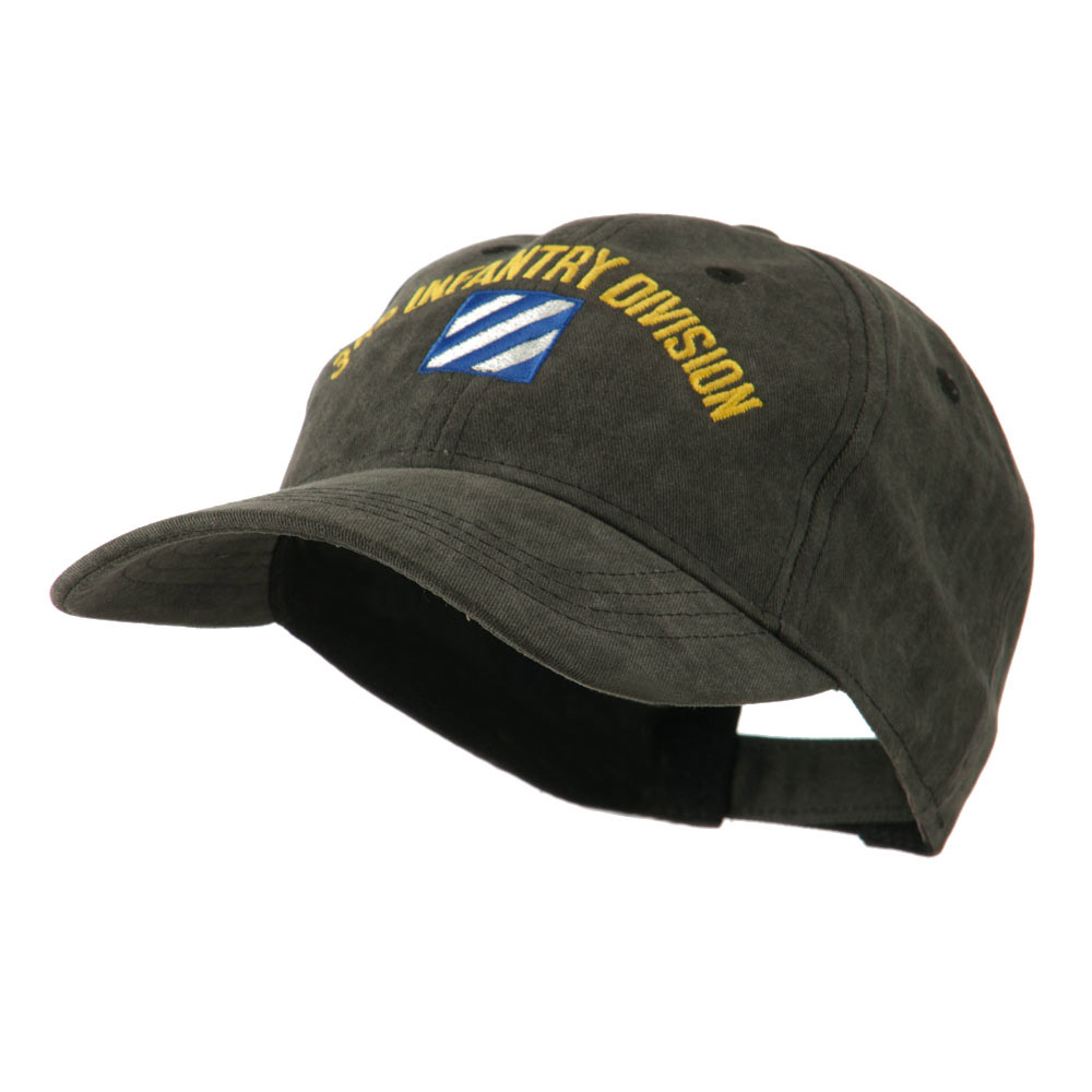 Army Divisions Cotton Washed Cap - 3rd - Hats and Caps Online Shop - Hip Head Gear