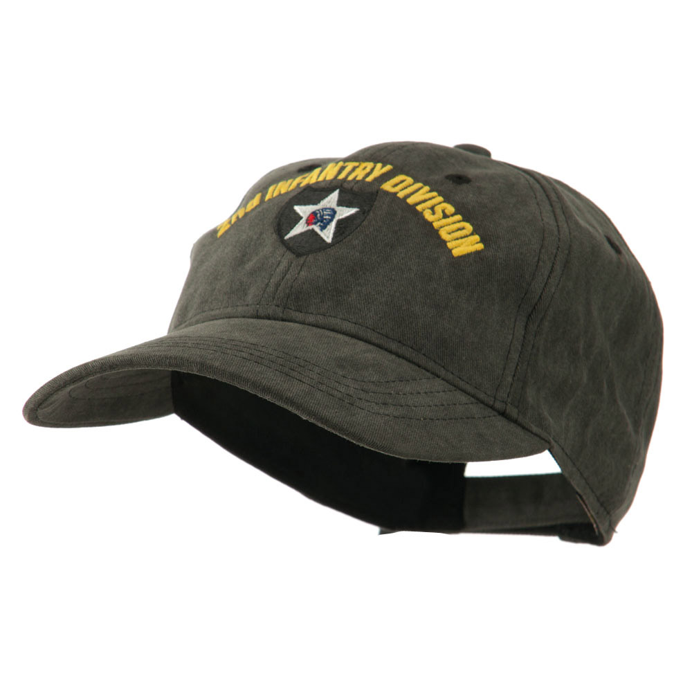 Army Divisions Cotton Washed Cap - 2nd - Hats and Caps Online Shop - Hip Head Gear