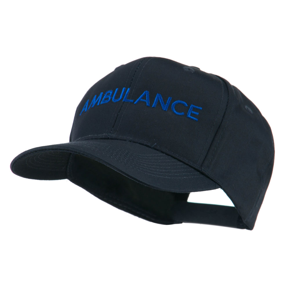 Ambulance Embroidered Cap - Navy - Hats and Caps Online Shop - Hip Head Gear