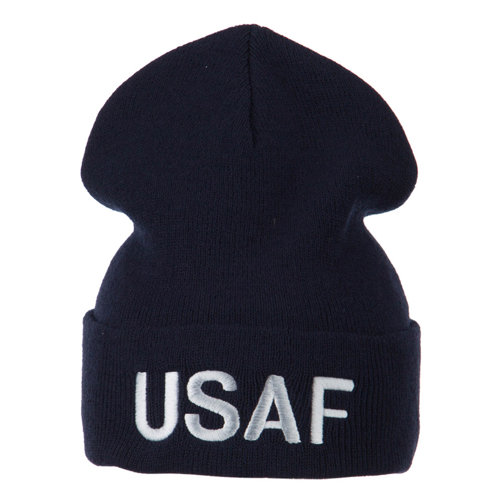 Air Force Embroidered Knit Military Beanie - USAF - Hats and Caps Online Shop - Hip Head Gear