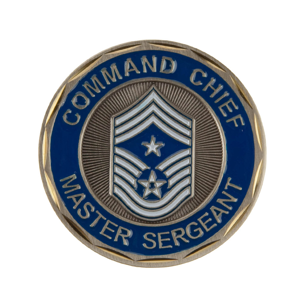 U.S. Air Force Rank Coin (2) - Master Sgt
