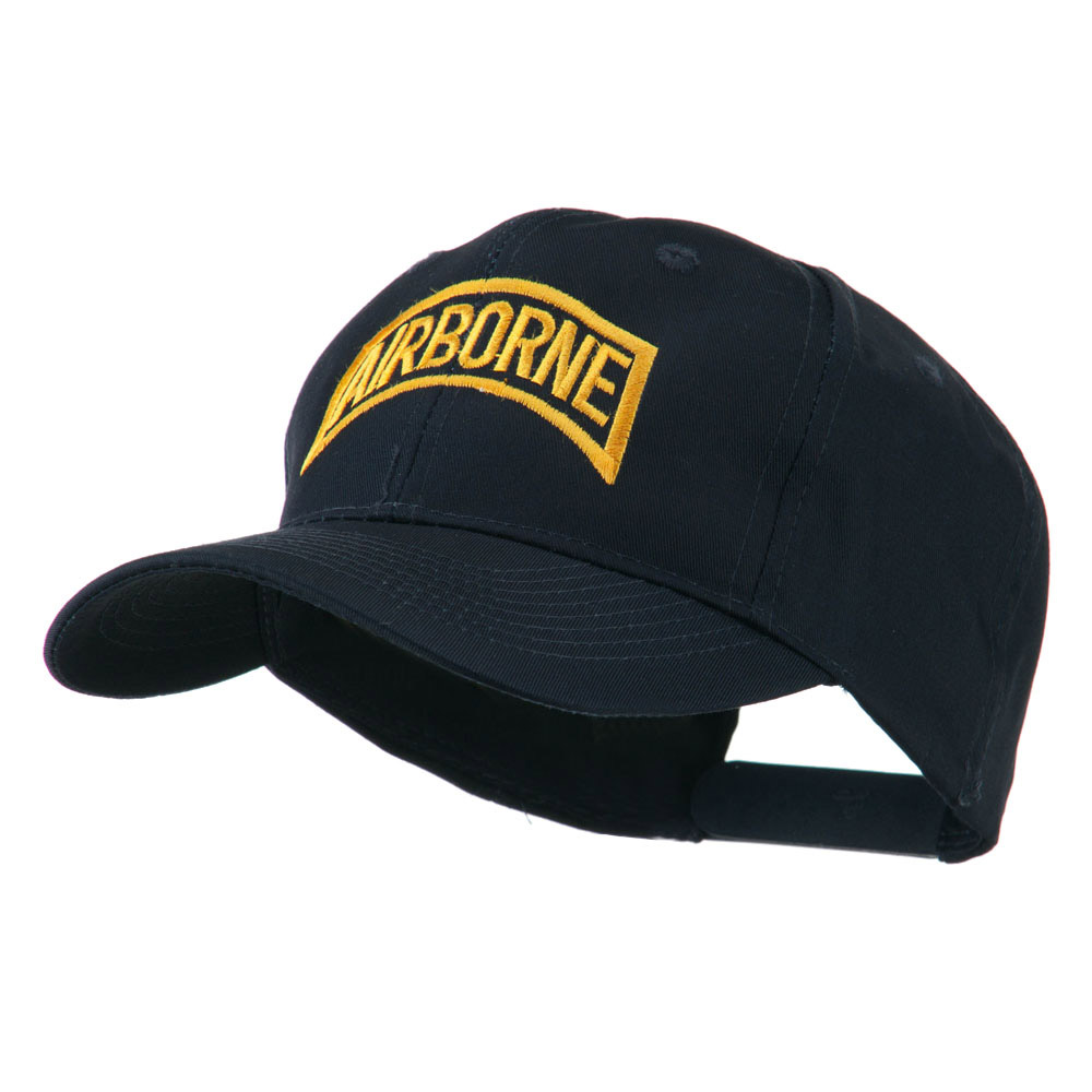 Air Force Unit of Airborne Embroidered Cap - Navy - Hats and Caps Online Shop - Hip Head Gear