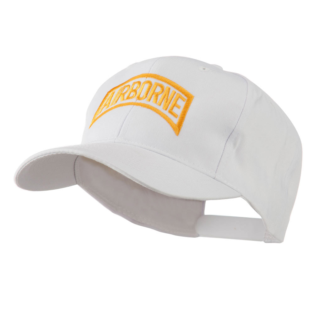 Air Force Unit of Airborne Embroidered Cap - White - Hats and Caps Online Shop - Hip Head Gear