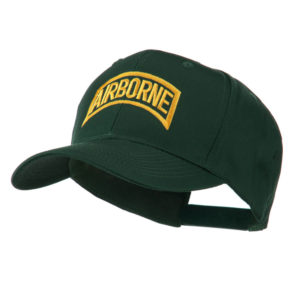 Air Force Unit of Airborne Embroidered Cap - Green - Hats and Caps Online Shop - Hip Head Gear