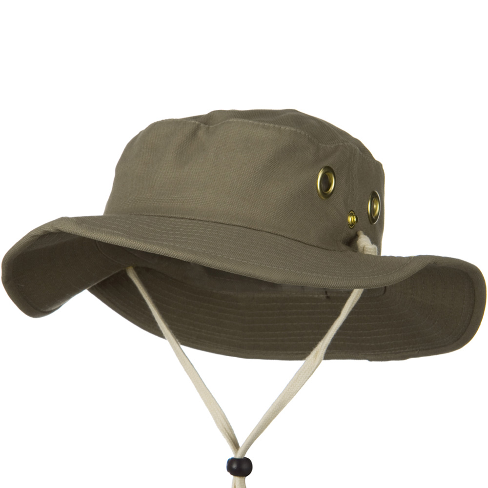 Canvas Outdoor Hats-Moss - Hats and Caps Online Shop - Hip Head Gear
