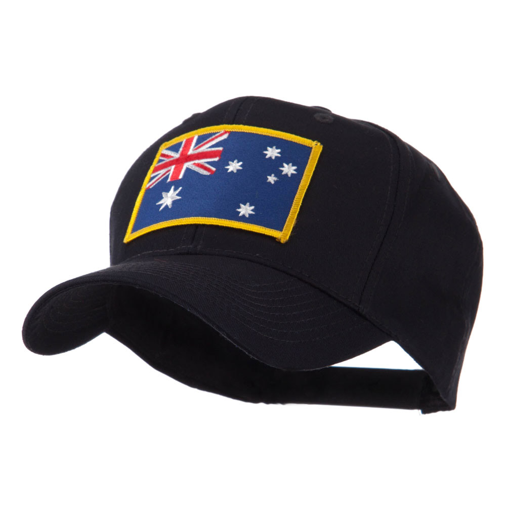 Asia Flag Embroidered Patch Cap - Australia - Hats and Caps Online Shop - Hip Head Gear