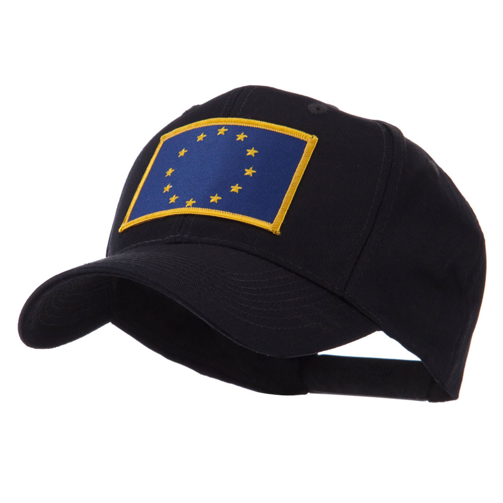 Asia Flag Embroidered Patch Cap - European - Hats and Caps Online Shop - Hip Head Gear