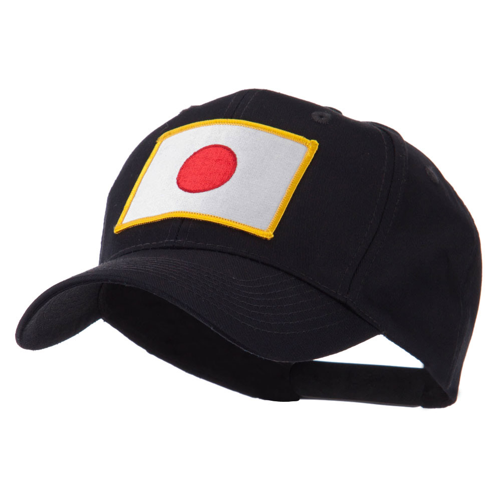 Asia Flag Embroidered Patch Cap - Japan - Hats and Caps Online Shop - Hip Head Gear