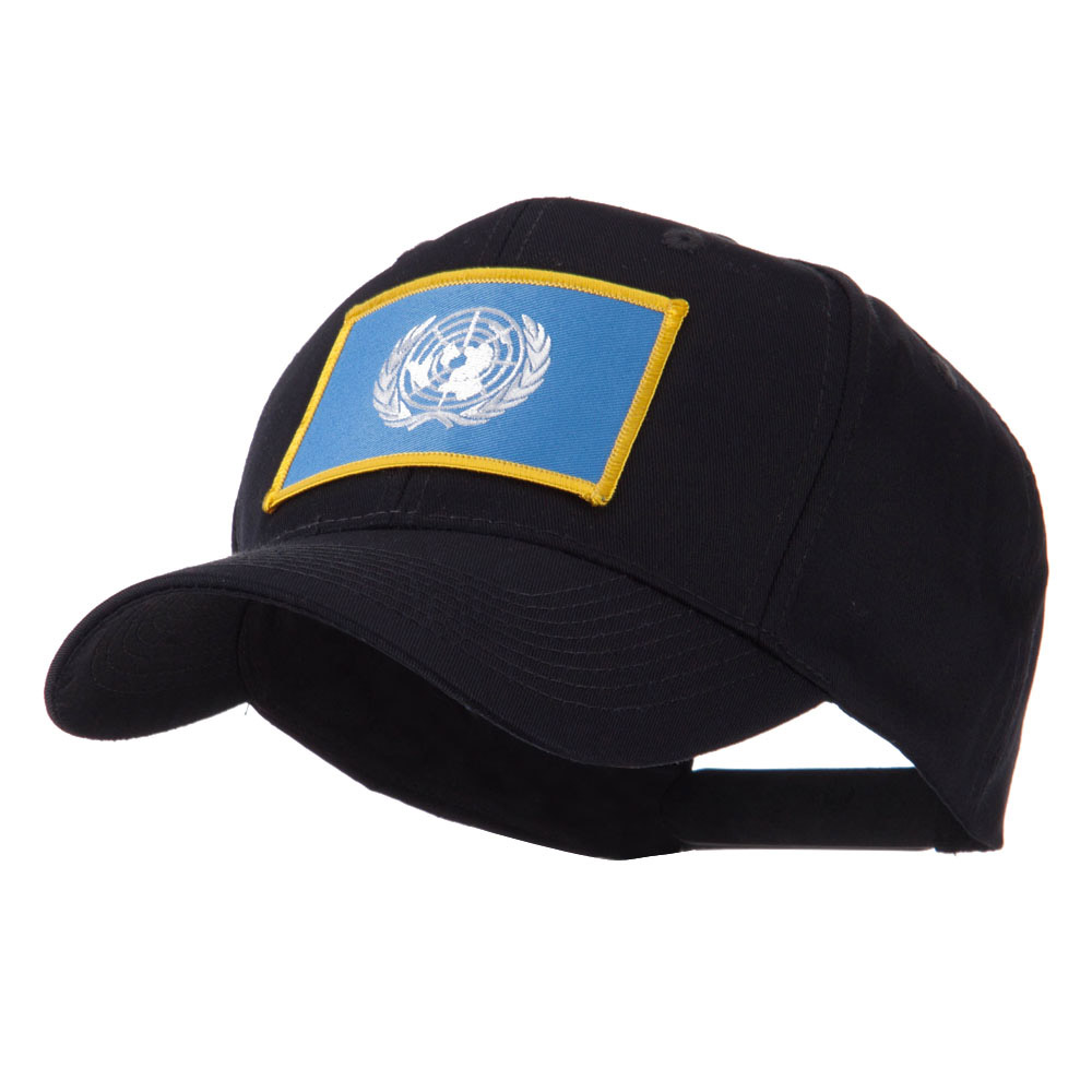 Asia Flag Embroidered Patch Cap - United Nation - Hats and Caps Online Shop - Hip Head Gear