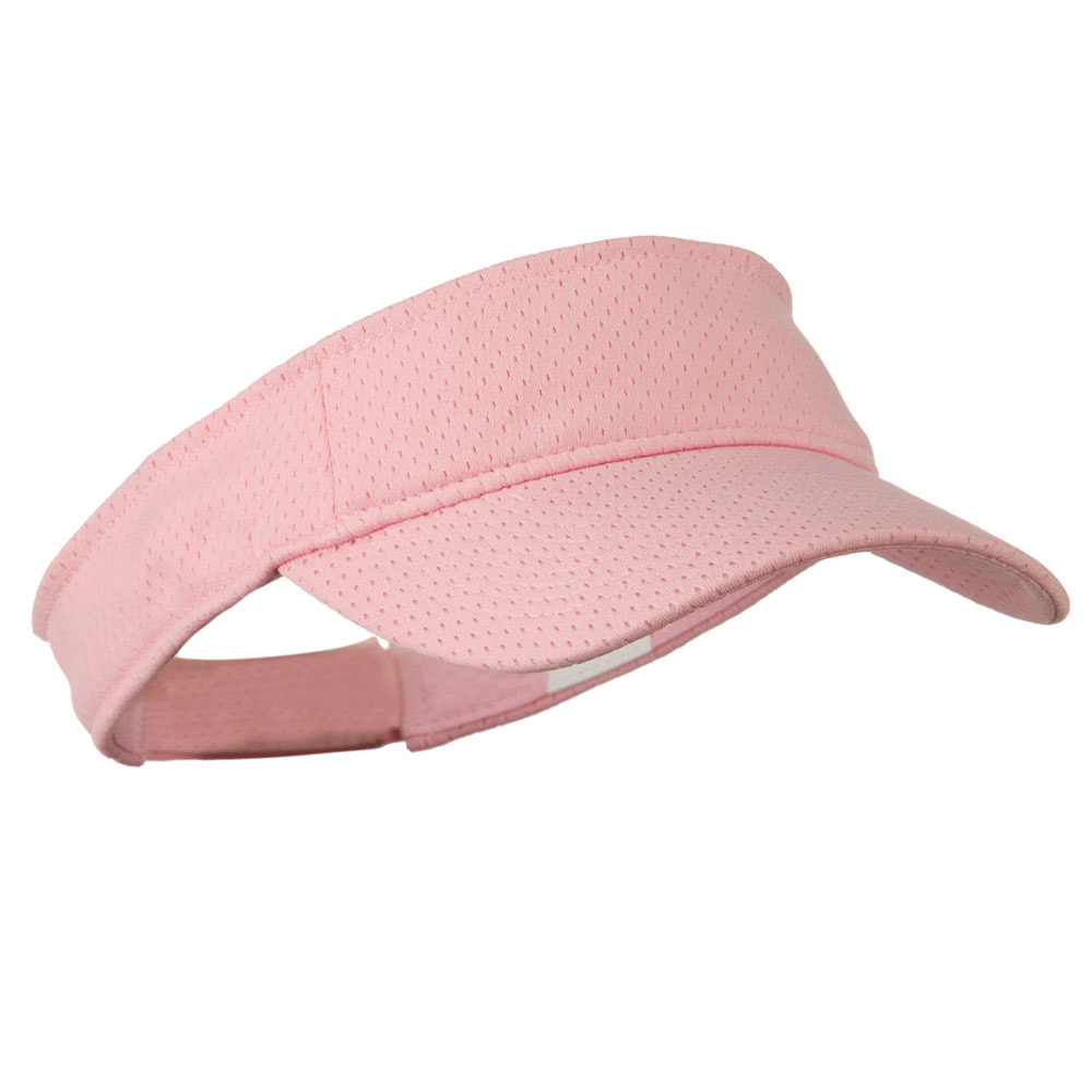 Athletic Jersey Mesh Sports Visor - Pink - Hats and Caps Online Shop - Hip Head Gear