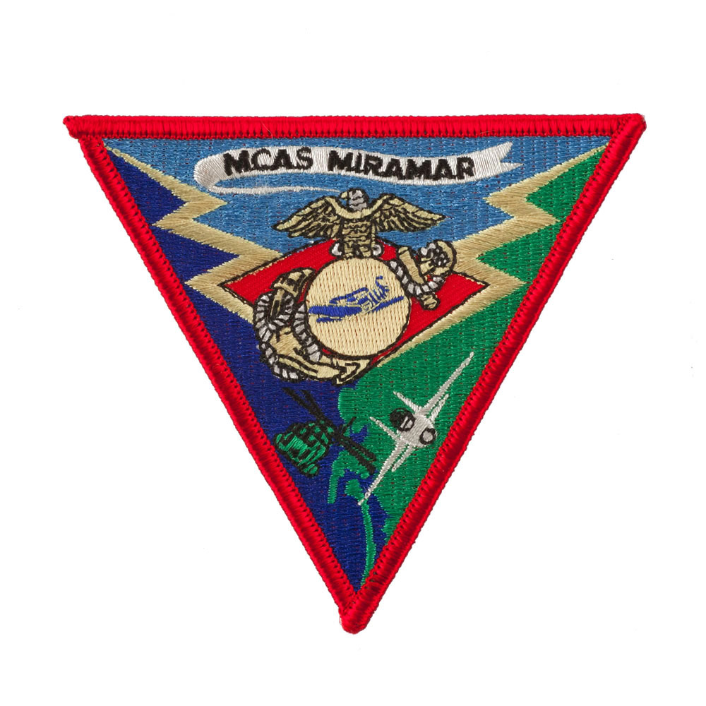 Assorted Marine Corps Logo Patches - MCAS