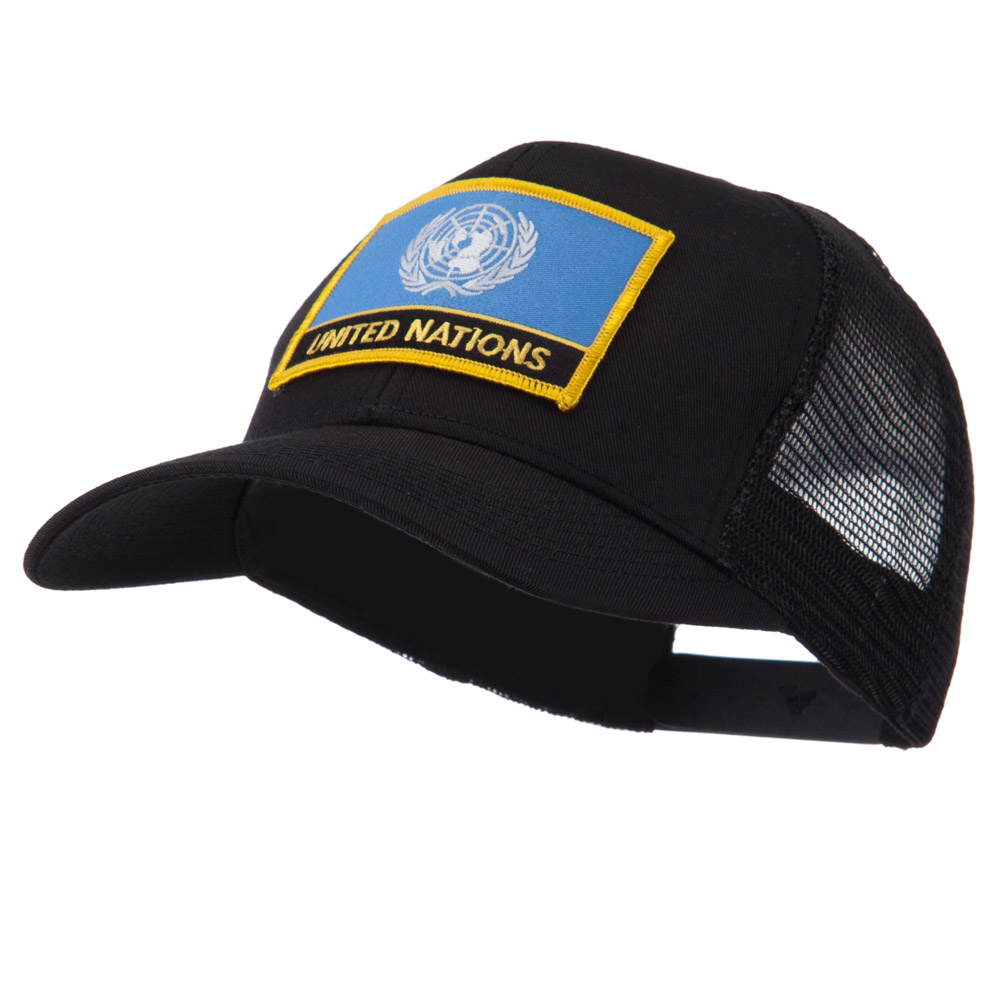 Asia, Australia and Other Flag Letter Patched Mesh Cap - United Nations - Hats and Caps Online Shop - Hip Head Gear