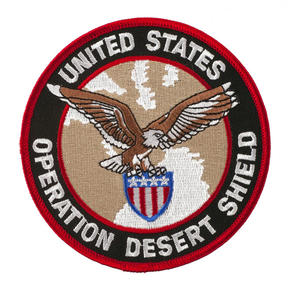 Assorted Operation Patches - Desert Shield