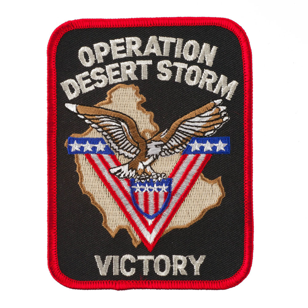 Assorted Operation Patches - Desert Storm Victory