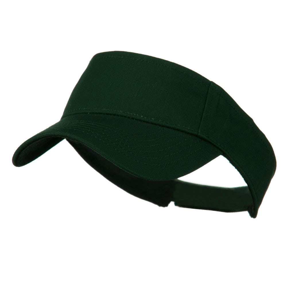 Ace Plain Strap Back Visor - Forest Green - Hats and Caps Online Shop - Hip Head Gear