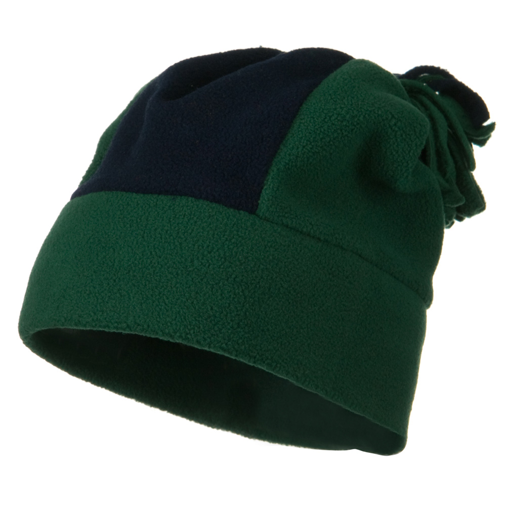 Anti Pilling Fleece Winter Beanie - Forest Navy - Hats and Caps Online Shop - Hip Head Gear