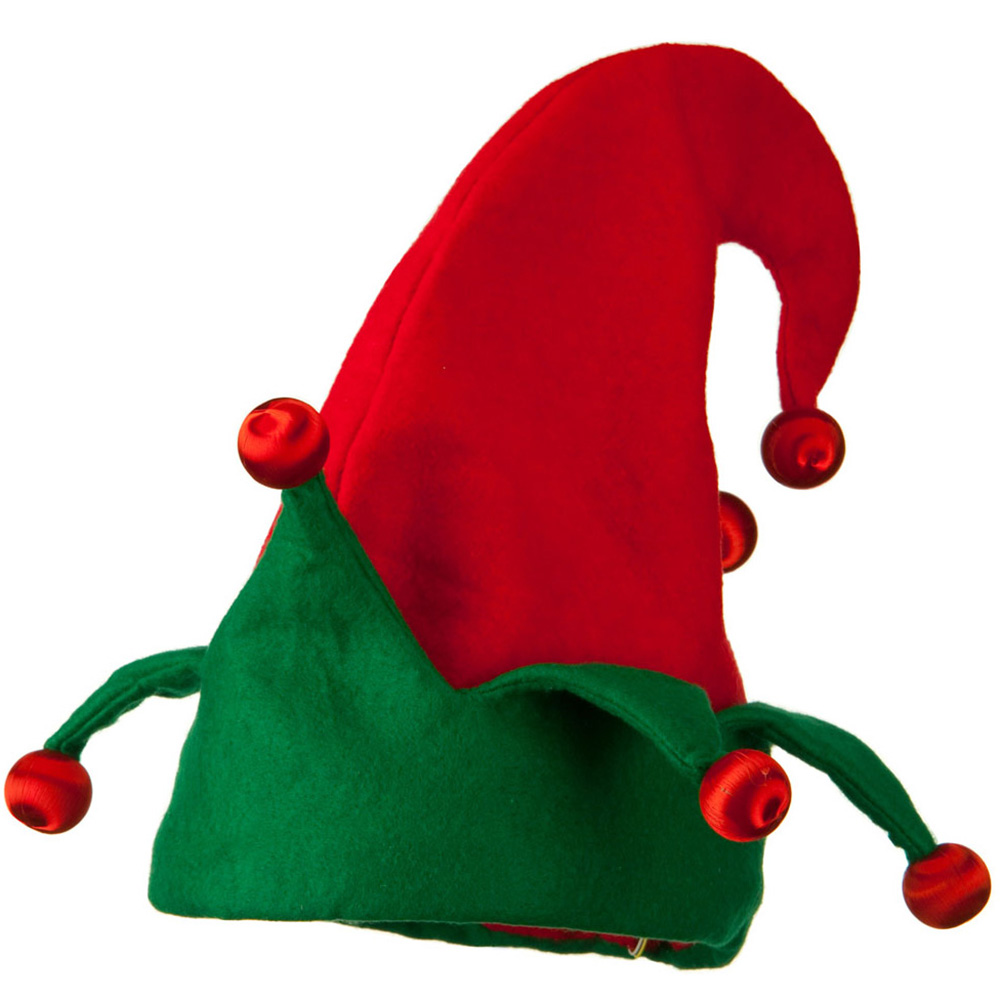 Assorted Red and Green Elf Hat - Red Green - Hats and Caps Online Shop - Hip Head Gear