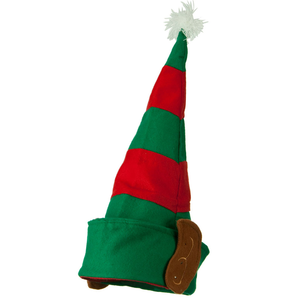 Assorted Red and Green Elf Hat - Red Green White - Hats and Caps Online Shop - Hip Head Gear