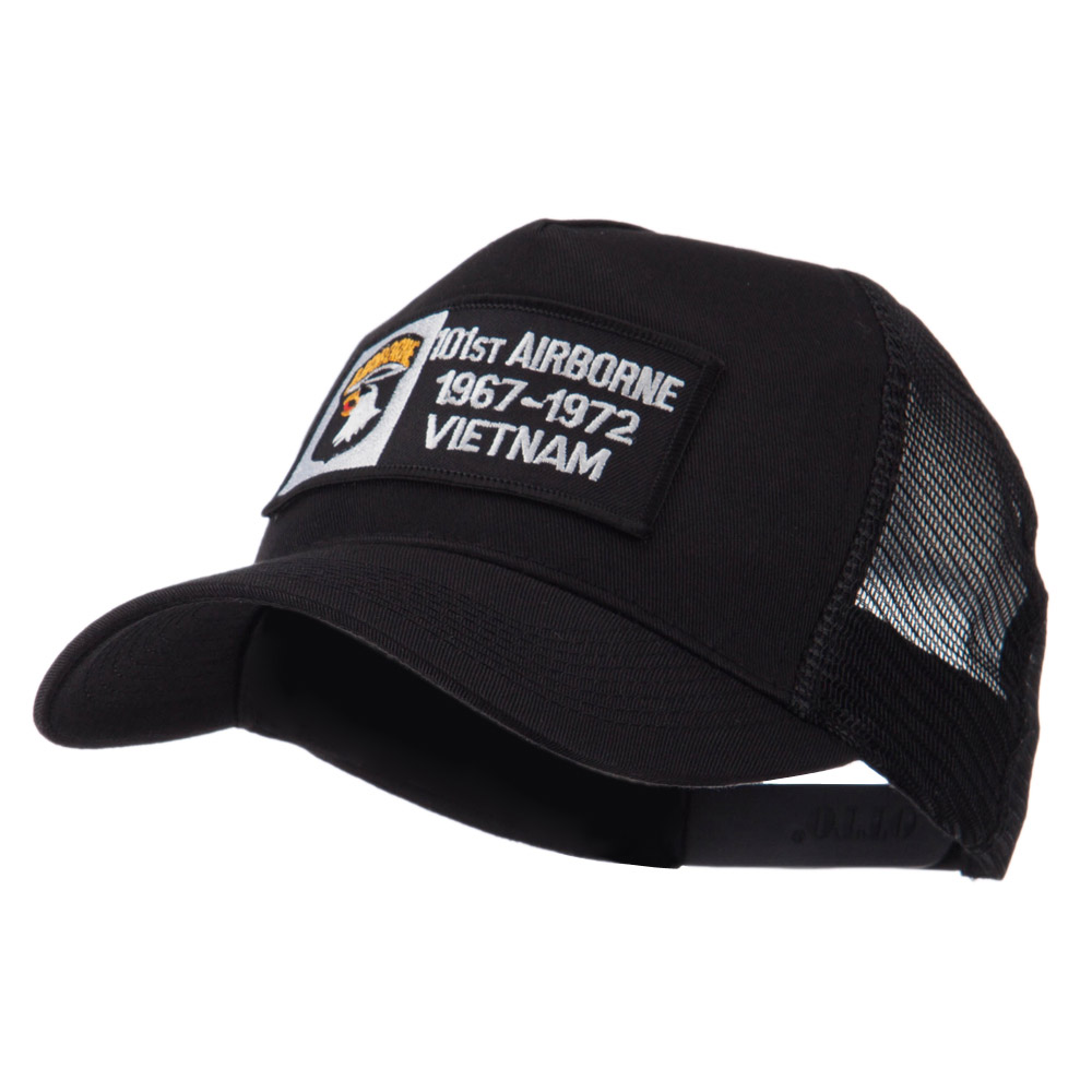 Air Borne Rectangle Military Patched Mesh Cap - 101st - Hats and Caps Online Shop - Hip Head Gear