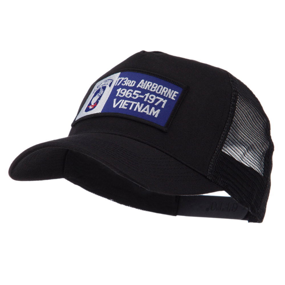Air Borne Rectangle Military Patched Mesh Cap - 173rd - Hats and Caps Online Shop - Hip Head Gear