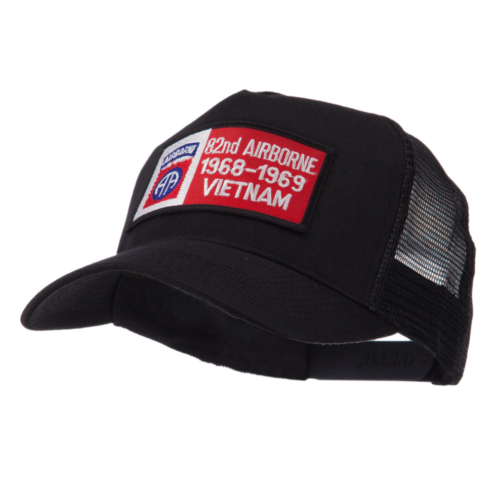 Air Borne Rectangle Military Patched Mesh Cap - 82nd - Hats and Caps Online Shop - Hip Head Gear