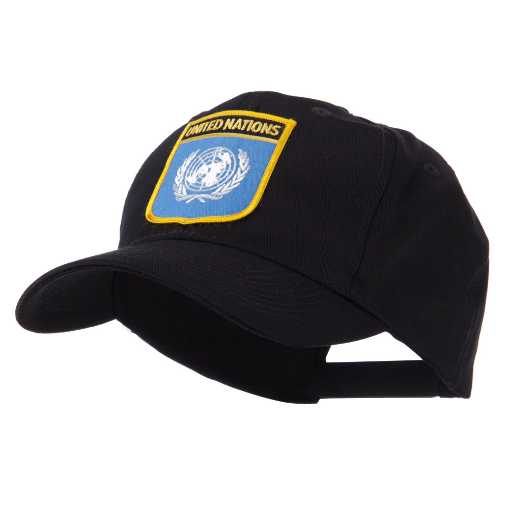 Asia Australia and Other Flag Shield Patch Cap - United Nation - Hats and Caps Online Shop - Hip Head Gear