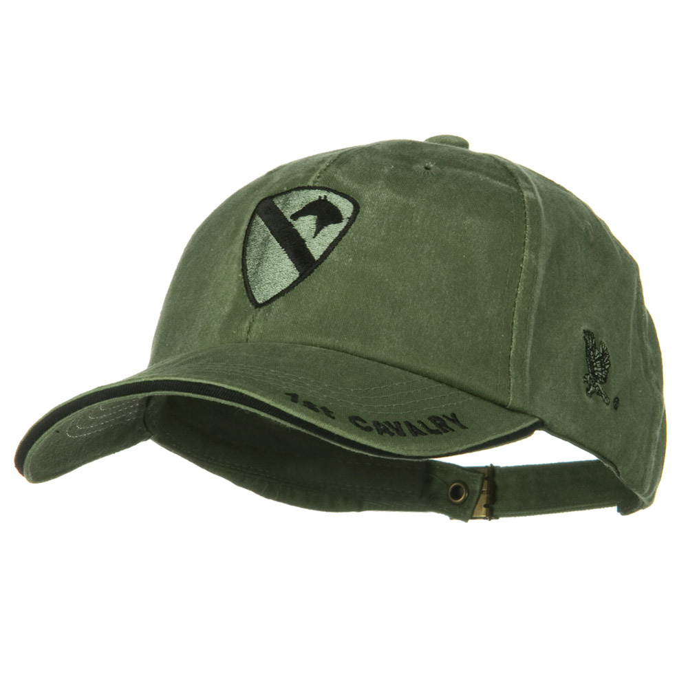 US Army Unit Pigment Dyed Cap - 1st Cavalry - Hats and Caps Online Shop - Hip Head Gear