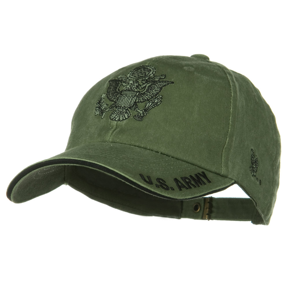 US Army Unit Pigment Dyed Cap - Army