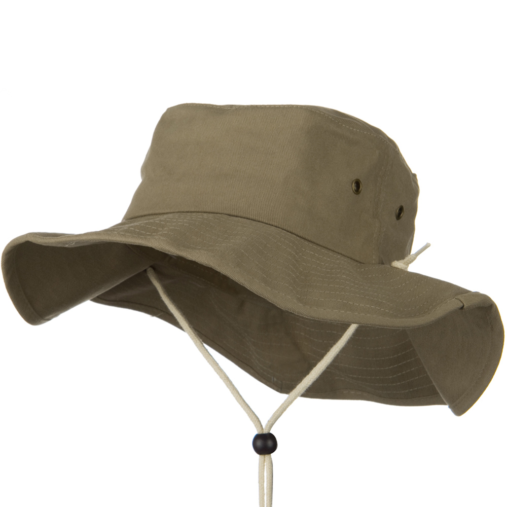 Big Size Cotton Australian Hat - Moss - Hats and Caps Online Shop - Hip Head Gear