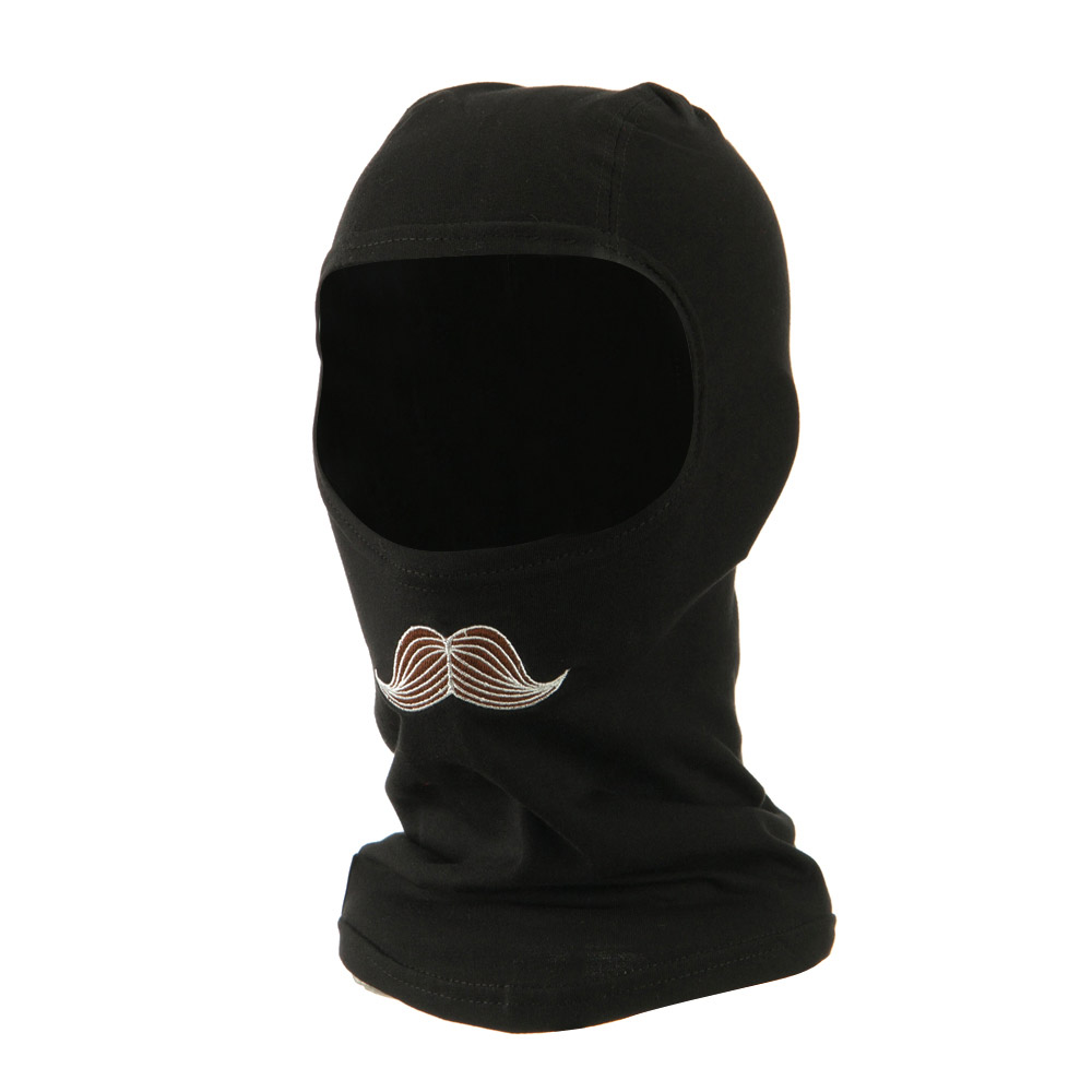 Bamboo Balaclava - Mustachio - Hats and Caps Online Shop - Hip Head Gear