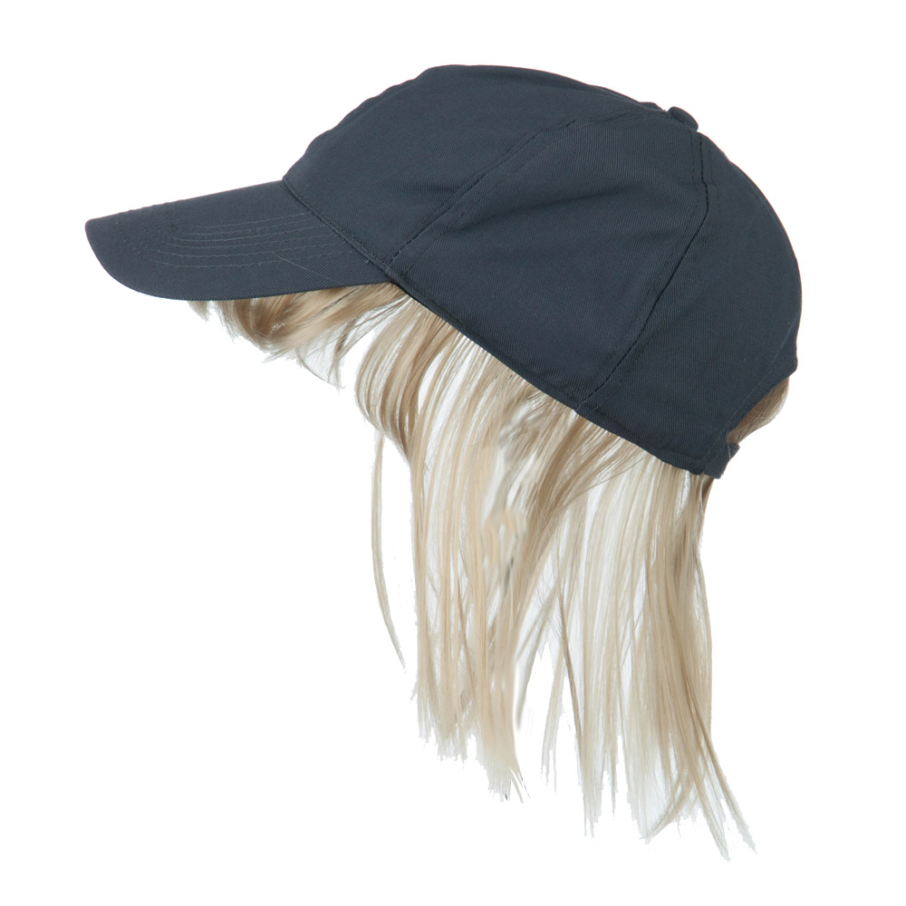 Baseball Cap with Bangs - Grey Blonde - Hats and Caps Online Shop - Hip Head Gear