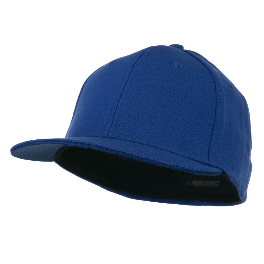 Flat Bill Fitted Flex Cap - Royal - Hats and Caps Online Shop - Hip Head Gear