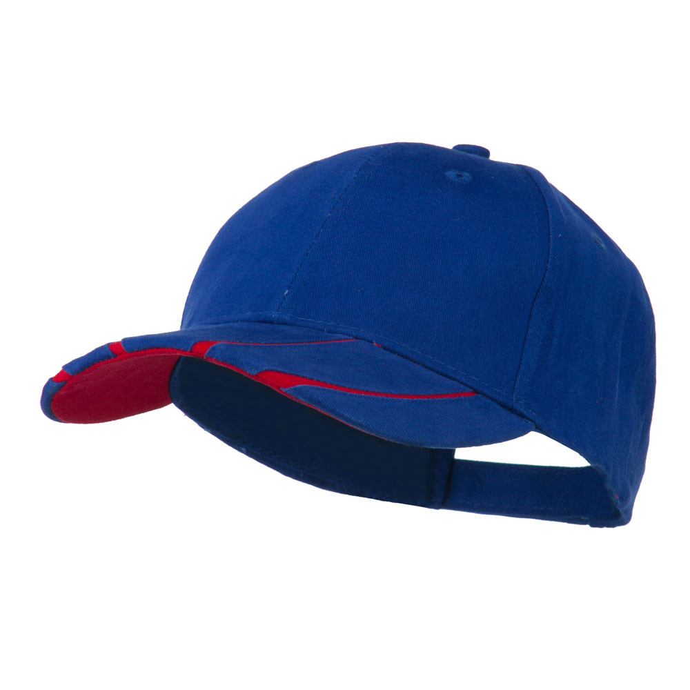 Legend Cotton Brushed Twill Ball Cap - Royal Red - Hats and Caps Online Shop - Hip Head Gear