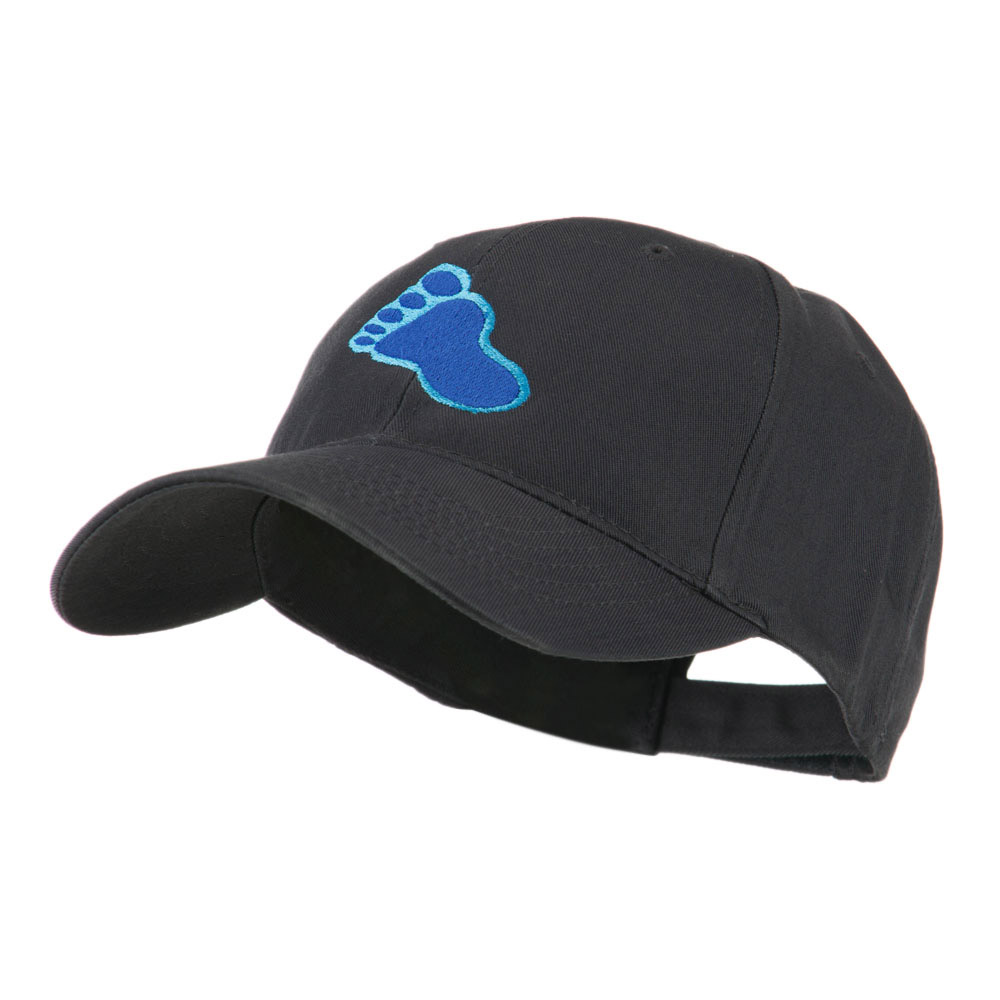 Bigfoot Track Mascot Embroidery Cap - Navy - Hats and Caps Online Shop - Hip Head Gear
