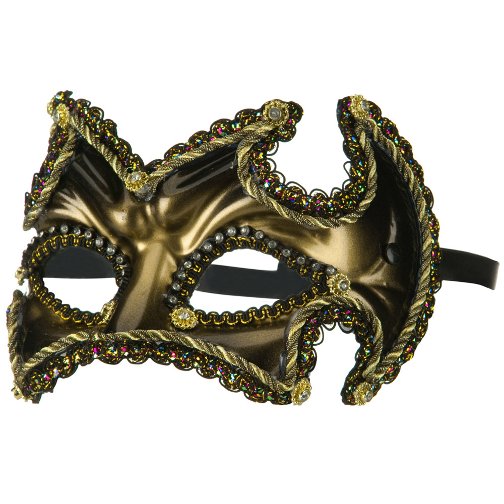 Black Gold Mask - Gold Black - Hats and Caps Online Shop - Hip Head Gear
