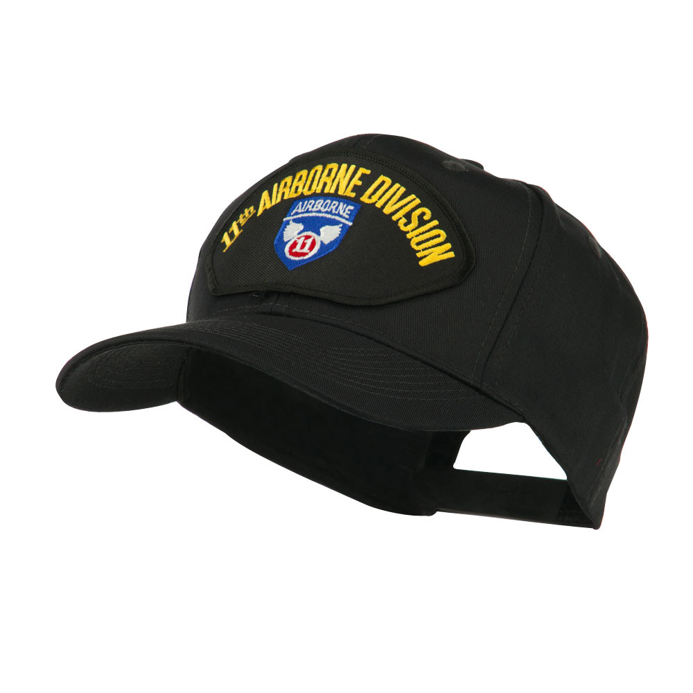 Air Bourne Military Large Patched Cap - 11th Air - Hats and Caps Online Shop - Hip Head Gear